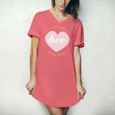 Hello Mello Sleep Shirt | If You Love Me Let Me Sleep