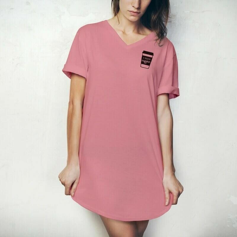 Hello Mello Sleep Shirt | I Need Coffee