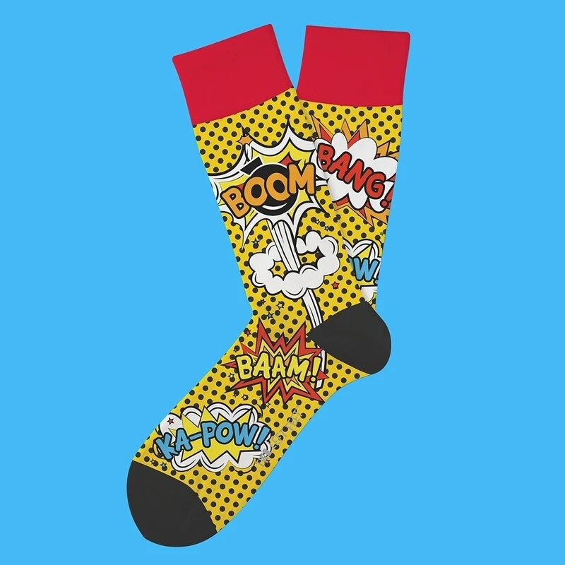 Two Left Feet - Everyday Socks (Big Feet) | Comicon