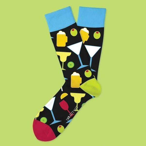 Two Left Feet - Everyday Socks (Big Feet)   Happy Hour