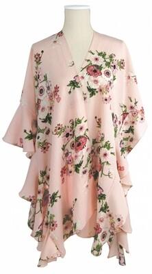 Jack & Missy | Pink Floral Kimono