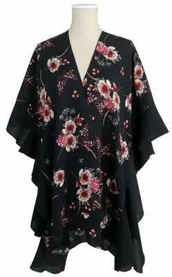 Jack & Missy | Black Floral Kimono