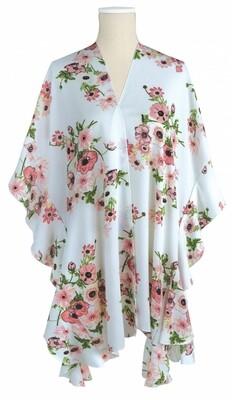 Jack & Missy | White Floral Kimono
