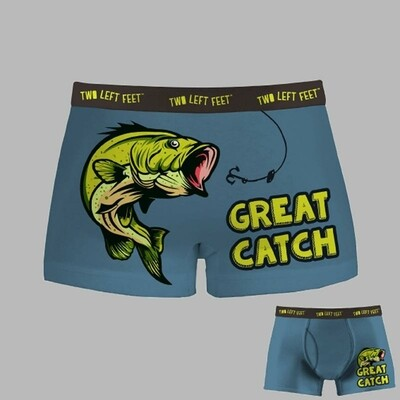 Two Left Feet - Men's Everyday Trunks | Great Catch