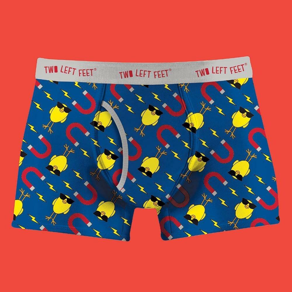 Two Left Feet - Men's Everyday Trunks   Chick Magnet