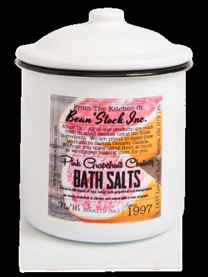 Bean'Stock Bath Salts | Pink Grapefruit Chutney