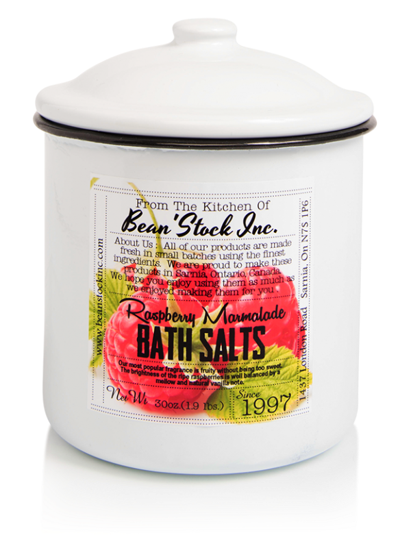 Bean'Stock Bath Salts | Raspberry Marmalade