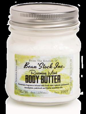 Bean'Stock Body Butter | Rosemary Mint