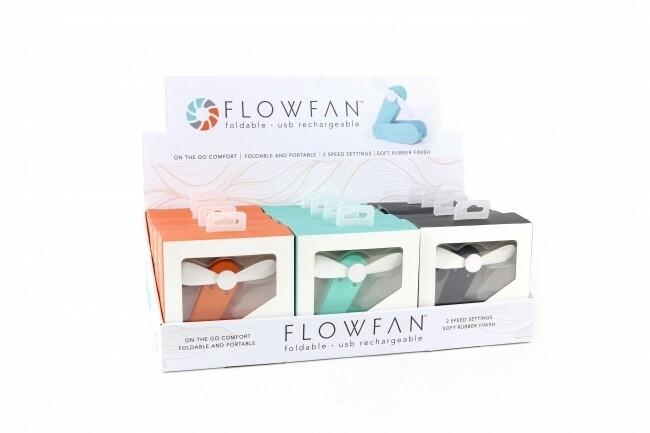 Flowfan - Foldable USB Rechargeable Fan