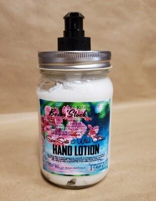 Bean'Stock Hand Lotion | Sea Salt & Wild Orchid