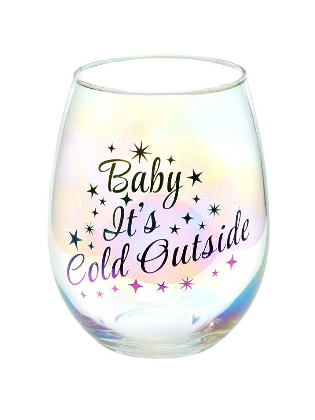 Stemless Wine Glass | Baby it's Cold Outside