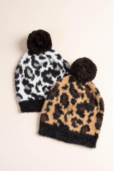 Simply Noelle | Animal Print Hat