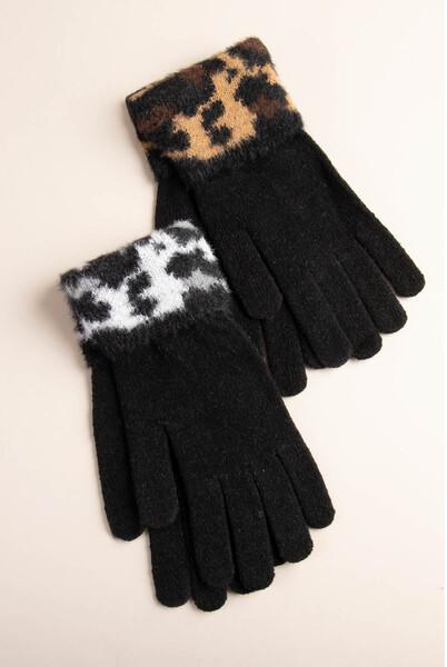 Simply Noelle | Animal Print Gloves
