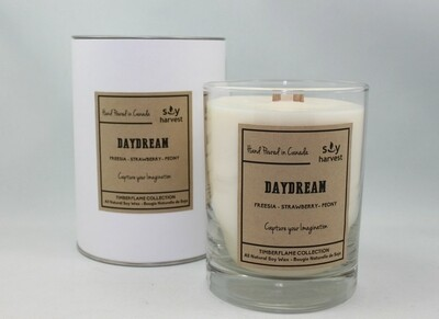 Soy Harvest Timberflame Candle | Daydream