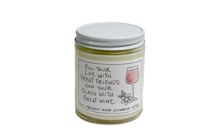 Serendipity 6 oz Soy Candle Jar | Great Friends
