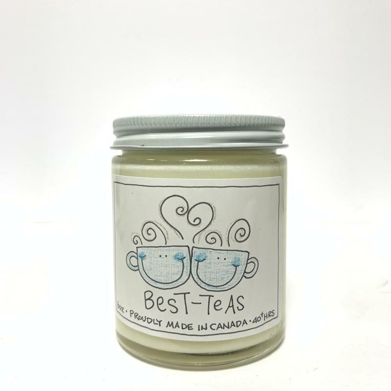 Serendipity 6 oz Soy Candle Jar | Best-Tea