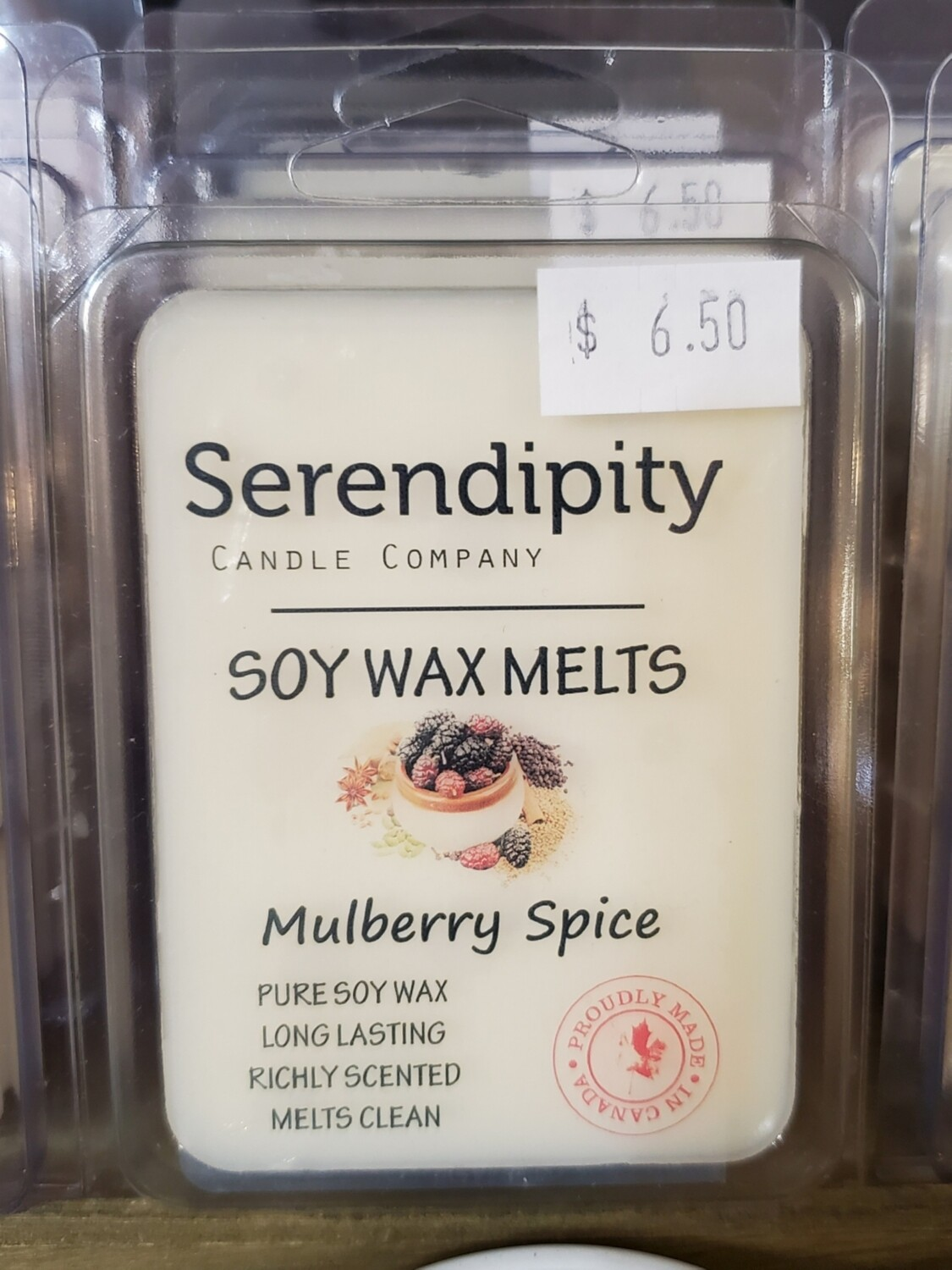 Serendipity Wax Melts | Mulberry Spice