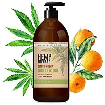 Aromatherapy Rituals Hemp Infused Body Lotion | Citrus & Hemp