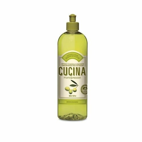 Fruits & Passion Cucina 500ml Concentrated Dish Detergent | Coriander & Olive Tree