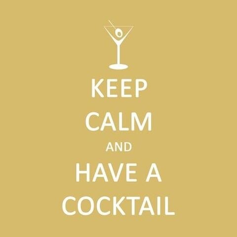 Keep Calm - Cocktail