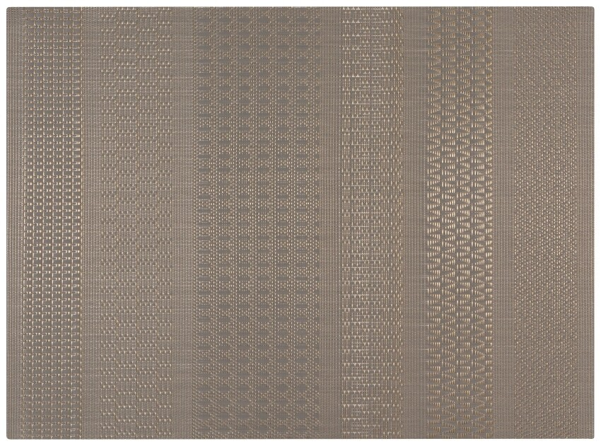 Now Designs Cadence Placemat | Gray