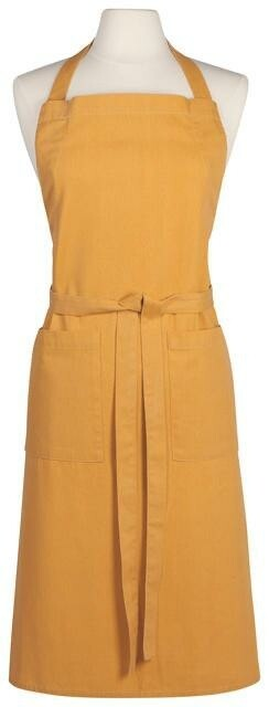 Now Designs Heirloom Stonewash Apron - Ochre