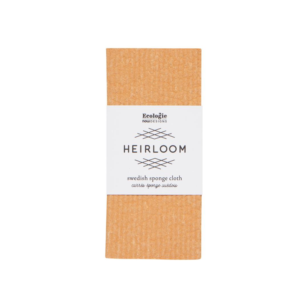 Now Designs Heirloom Swedish Dish Sponge - Ochre