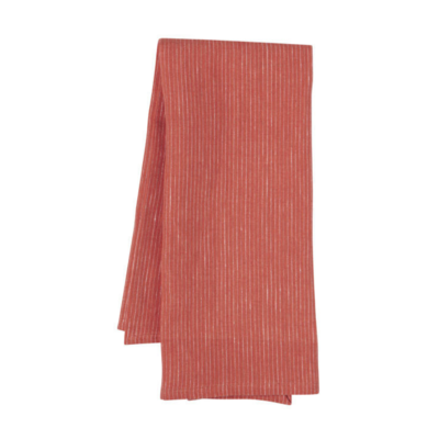 Now Designs Heirloom Linen Tea Towel   Clay