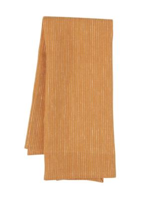 Now Designs Heirloom Linen Tea Towel   Ochre