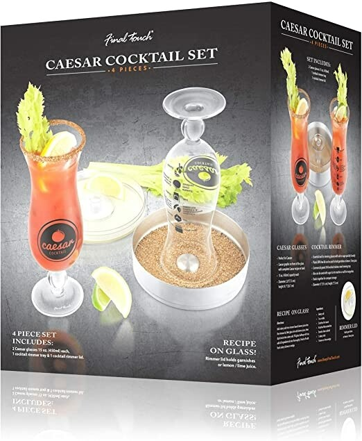 Final Touch   Caesar Cocktail 4 pc Set