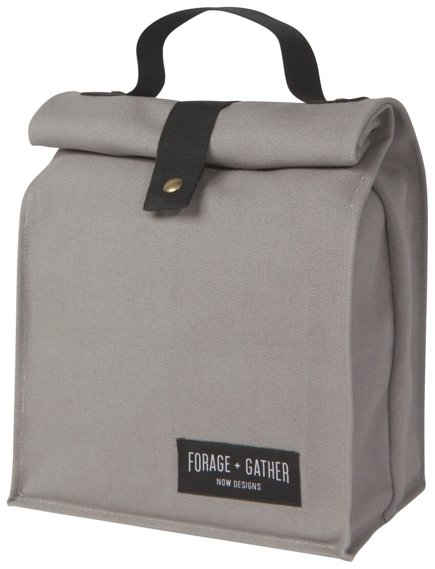 Now Designs Forage & Gather Lunch Bag | Gray