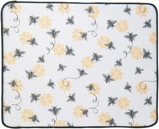 Kay Dee Designs Microfiber Countertop Drying Mat   Queen Bee