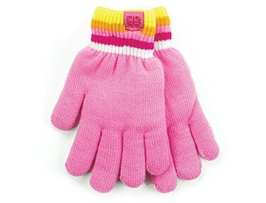 Britt's Knits Kid's Play All Day Fuzzy Lined Gloves | Pink