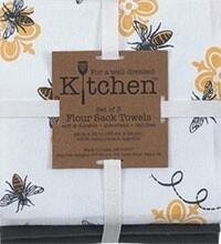 Kay Dee Designs Flour Sack Towel (Set of 3) | Queen Bee
