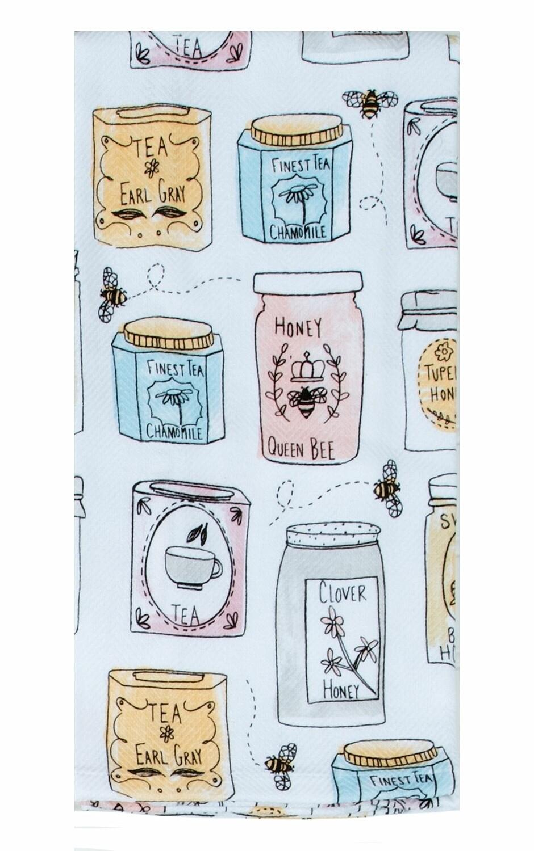 Kay Dee Designs Tea Towel | Bee Inspired Jars