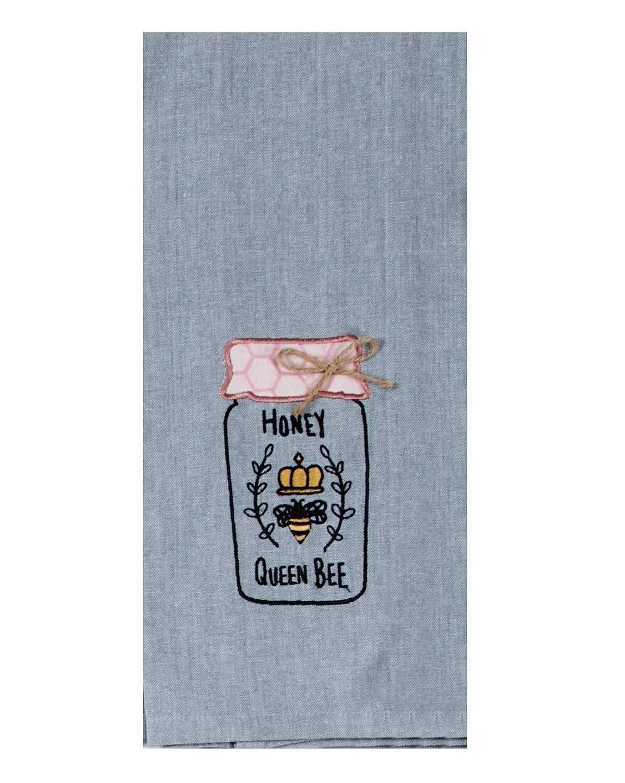 Kay Dee Designs Embroidered Tea Towel | Bee Inspired