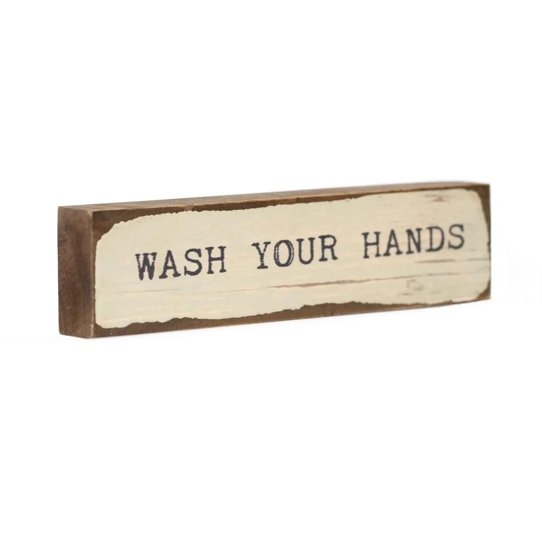 Cedar Mountain Timber Bits - Wash Your Hands
