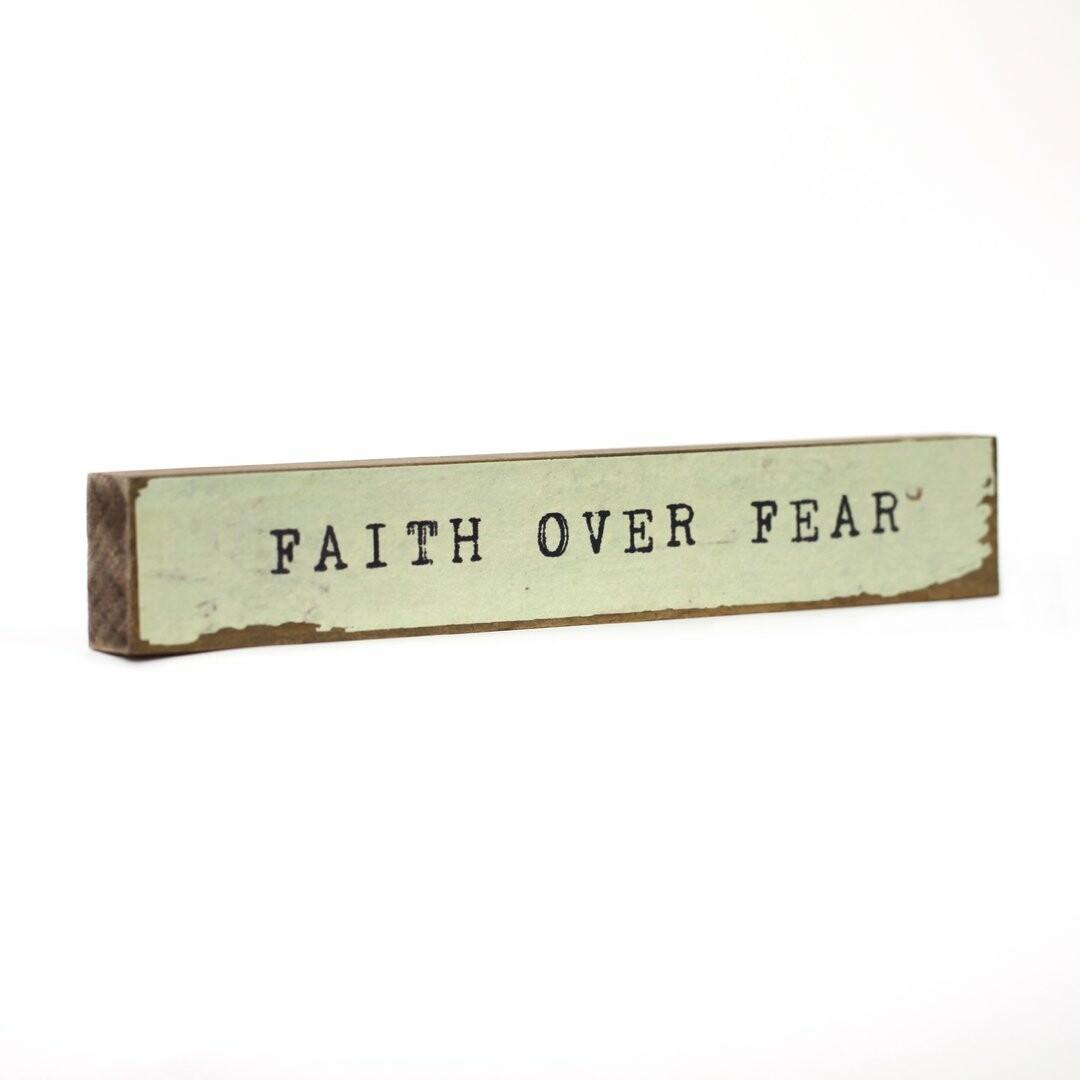 Cedar Mountain Timber Bits - Faith Over Fear