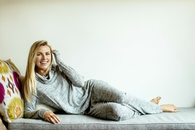 Hello Mello Carefree Threads Melange Lounge Pants | Grey