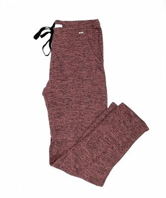 Hello Mello Carefree Threads Melange Lounge Pants | Pink