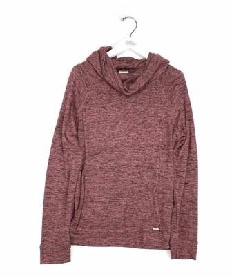 Hello Mello Carefree Threads Melange Lounge Shirt | Pink