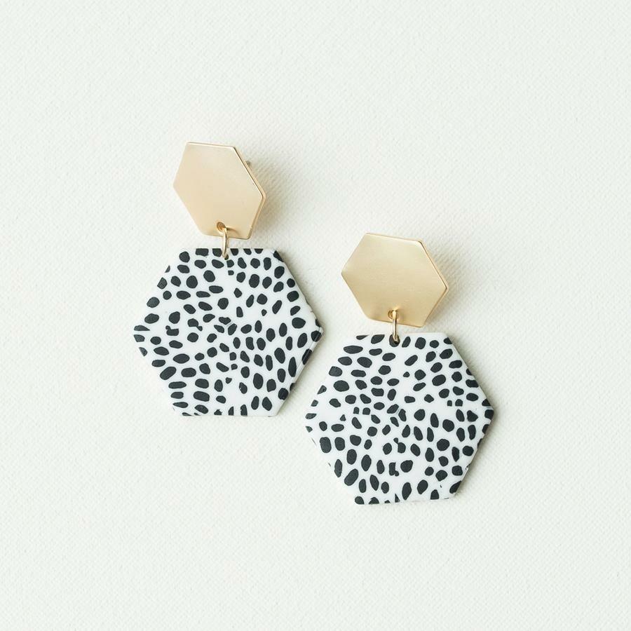 Michelle McDowell Haven Earrings | Dalmatian