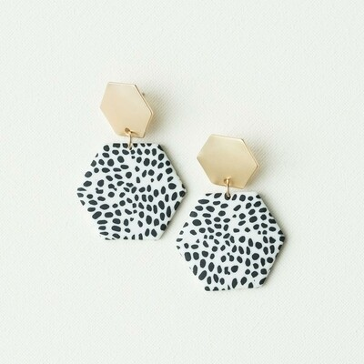 Michelle McDowell Haven Earrings | Dalmatian