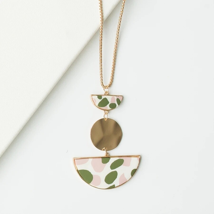 Michelle McDowell Shea Necklace | Blush
