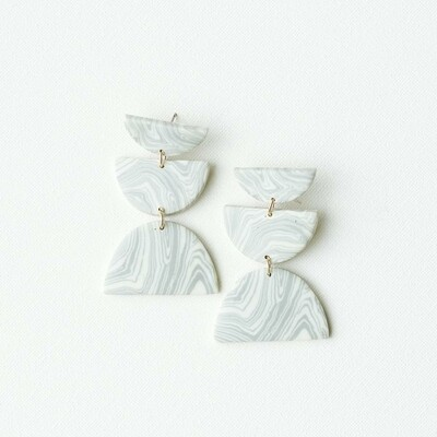 Michelle McDowell Shea Earrings | Marble