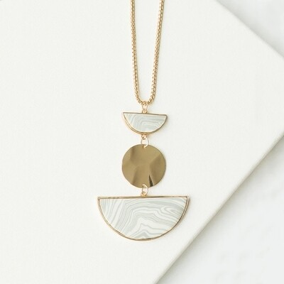 Michelle McDowell Shea Necklace | Marble