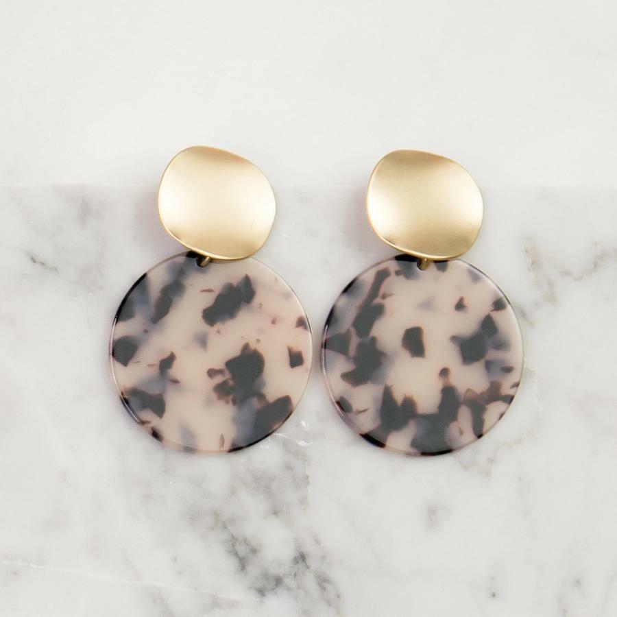 Michelle McDowell Barrington Earrings | Blonde Tortoise