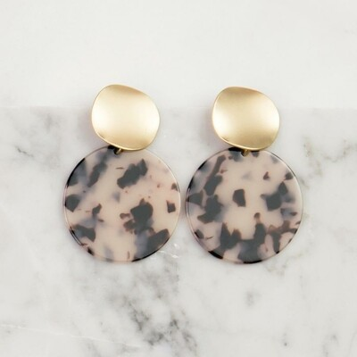 Michelle McDowell Barrington Earrings | Blonde Tortoise