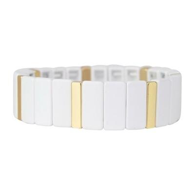Michelle McDowell Tortuga Bracelet | White
