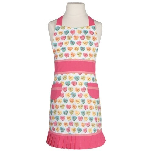 Now Designs Childrens Sally Apron | Sweet Hearts